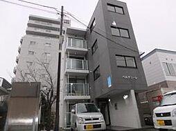 北海道札幌市豊平区旭町6丁目の賃貸マンションの外観