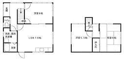 鳥取県米子市新開2丁目 [一戸建] の間取り