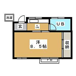 奥沢駅 6.7万円