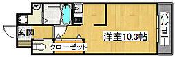 ブリランテIII番館[4階]の間取り