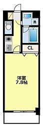 ヴァンクール豊田[8階]の間取り