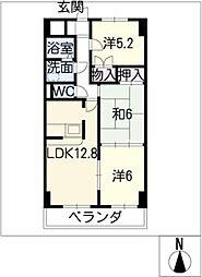 Comfort21[5階]の間取り