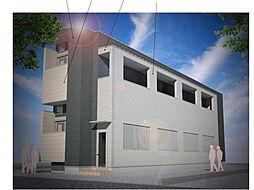 仮称)ハーモニーテラス大阪市旭区大宮四丁目・SKHコーポB号[2階]の外観