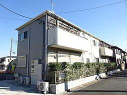 東京都練馬区東大泉6の賃貸アパートの外観