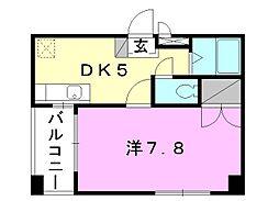ブラウンハイム3[105 号室号室]の間取り