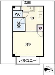 ドリーム2[1階]の間取り
