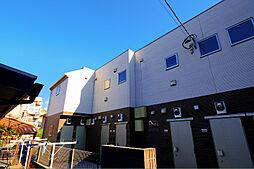東京都清瀬市元町1丁目の賃貸アパートの外観