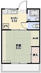 レッドペッパー[1階]の間取り