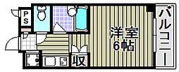 レスポアール[506号室]の間取り