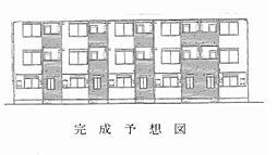 広島電鉄宮島線 楽々園駅 徒歩10分の賃貸アパート
