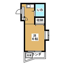 ジョイフル藤ヶ丘[3階]の間取り