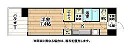 maison do hiro メゾン・ド・ヒロ[5階]の間取り