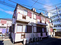 東京都練馬区東大泉4の賃貸アパートの外観