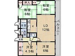 北花田駅 7.5万円