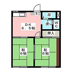 第2フォーブル[1階]の間取り
