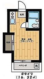 三協ハウス[15号室]の間取り