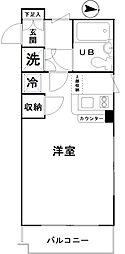ワコーレ西新井II[112号室]の間取り