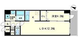 マウントピア[2階]の間取り