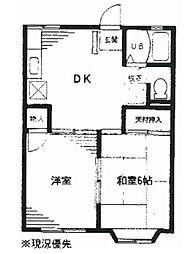 サニー湘南[2階]の間取り