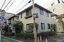 東京都新宿区二十騎町の賃貸アパートの外観