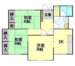 [一戸建] 長野県松本市筑摩2丁目 の賃貸【/】の間取り
