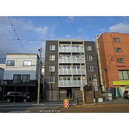 北海道札幌市中央区南十四条西6の賃貸マンションの外観