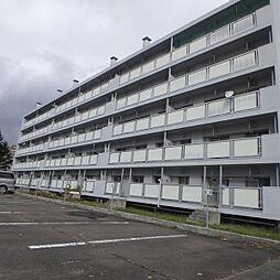 ビレッジハウス上野幌4号棟[4階]の外観
