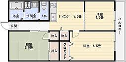 エス・ティ・ハイム[2階]の間取り