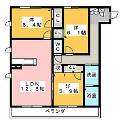 仮)ハートホーム名東区亀の井[3階]の間取り