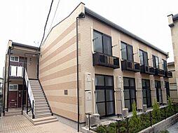 埼玉県川口市芝5丁目の賃貸アパートの外観