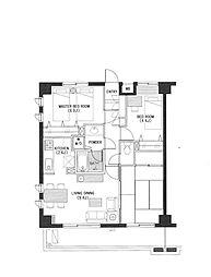 ラナイヒルサイド1188[2階]の間取り