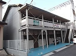 京都府宇治市五ケ庄一里塚の賃貸アパートの外観