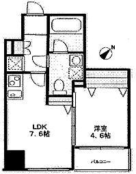ドゥーエ東高円寺[7階]の間取り