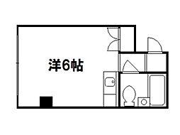 GRAND VALUE 西陣[4階]の間取り