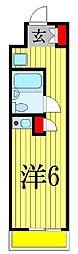 三栄ビル[4階]の間取り