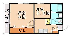 プラムフォレスト[2階]の間取り