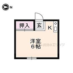 【敷金礼金0円!】叡山電鉄鞍馬線 二軒茶屋駅 徒歩30分
