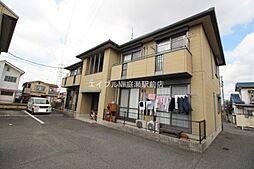 岡山県岡山市南区当新田の賃貸アパートの外観