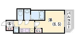 ファーストフィオーレ神戸駅前[9階]の間取り