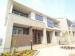 兵庫県明石市南貴崎町の賃貸アパートの外観