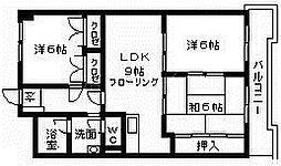 ウインズヴィラ30[3階]の間取り