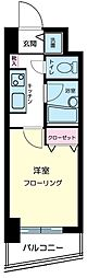 クレアシオン六本木[10階]の間取り