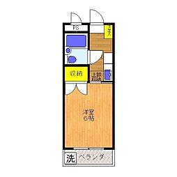 エクセル稲城[3階]の間取り