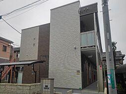 東京都江戸川区篠崎町3丁目の賃貸アパートの外観