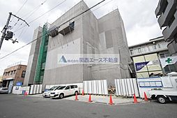 大阪府大東市扇町の賃貸マンションの外観