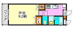 LEO弐拾弐番館[3階]の間取り