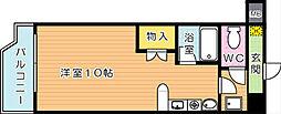 オリエンタル黒崎[2階]の間取り