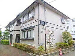兵庫県宝塚市三笠町の賃貸アパートの外観