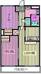 埼玉県さいたま市西区三橋5丁目の賃貸マンションの間取り