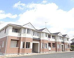 埼玉県加須市水深の賃貸アパートの外観